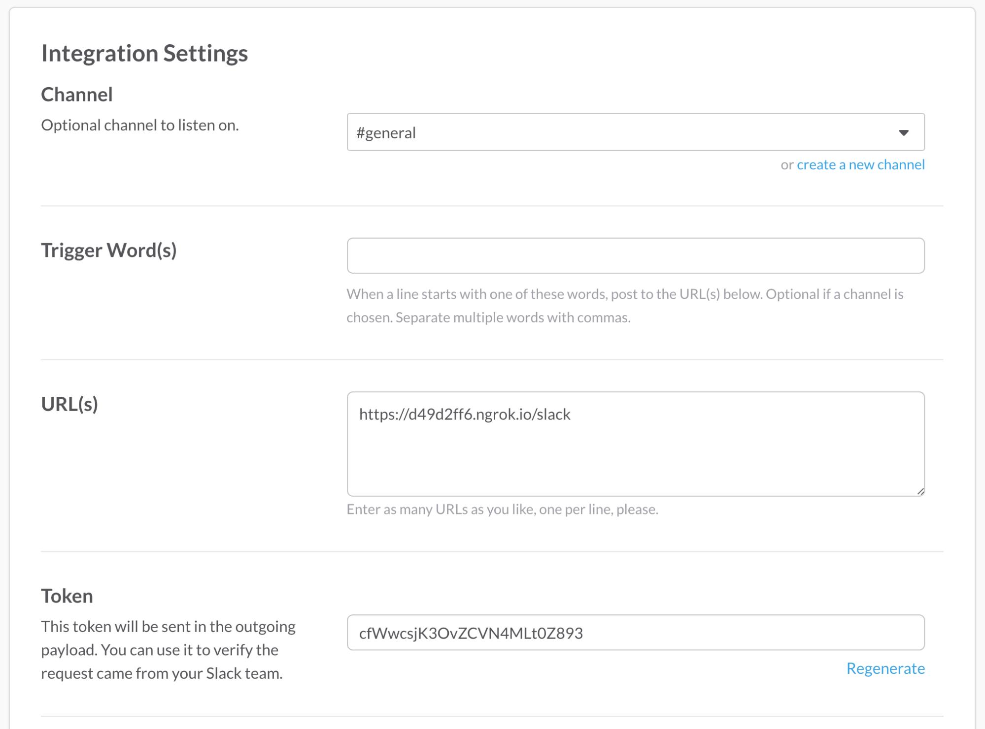 Getting started with the slack api using python and flask slack outgoing webhooks settings baditri Images