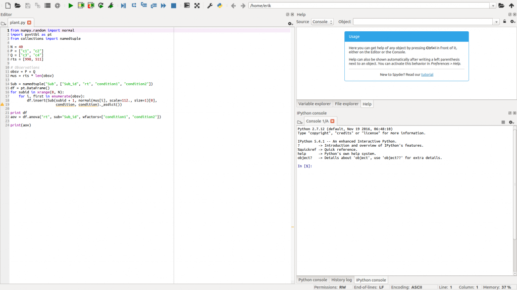 PyCharm vs Spyder: a quick comparsion of two Python IDEs