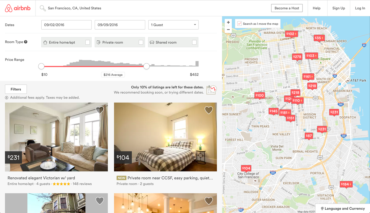 Machine Learning Fundamentals: Predicting Airbnb Prices